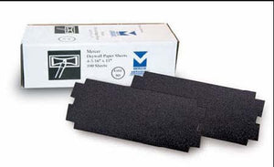 "4-3/16""X11"" BLACK DRYWALL PAPER SHEETS"