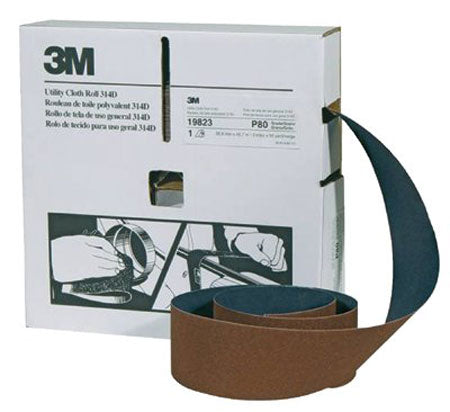 3M Utility Cloth Rolls 314D (2 in x 50 yd)