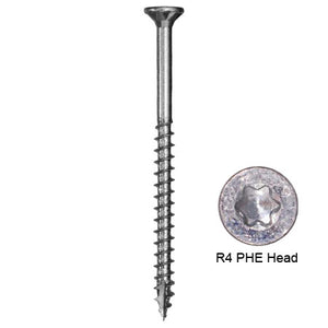 PHEINOX™ 305 STAINLESS STEEL R4™ MULTI-PURPOSE FRAMING AND DECKING SCREW (Bulk & Handy-Pak)
