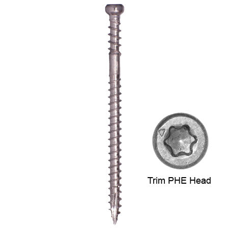 RT COMPOSITE™ TRIM SCREW PHE INOX™ 305 STAINLESS STEEL (Pro Pack)