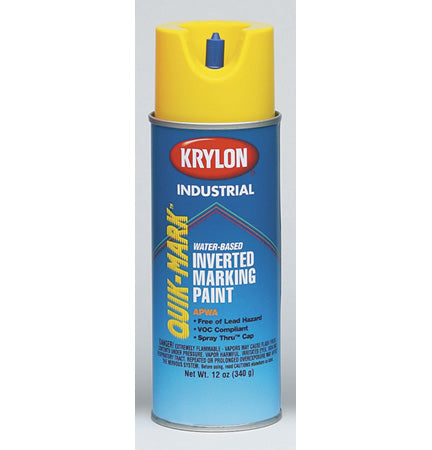 Krylon Industrial Quik-Mark Water-Based Inverted Marking Paint