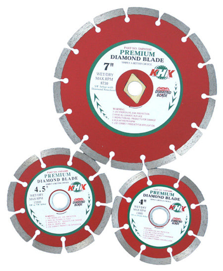 PREMIUM SMALL WET/DRY CUTTING MULTI-PURPOSE BLADES
