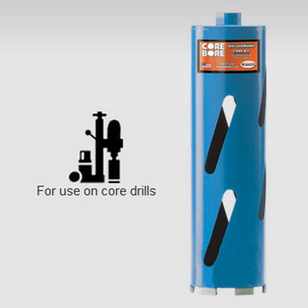 Star Blue Dry Hole Saw Core Bits