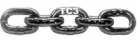 Hot Galvanized TC3 Grade 30 Proof Coil Chain - Pail