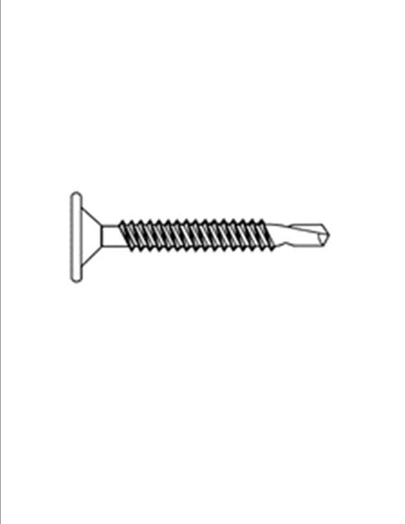 Phillips Wafer Head Zinc Plated Self Drilling Screw