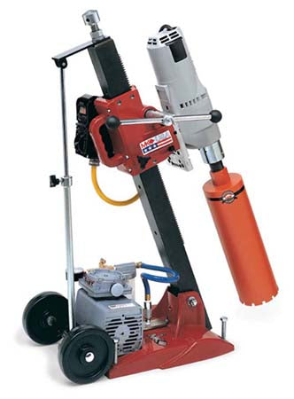Manta III Combination Tilt Drill Stand with Milwaukee 4004 Motor