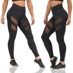 Molly -Slim Fitness Womens Patchwork Leggings