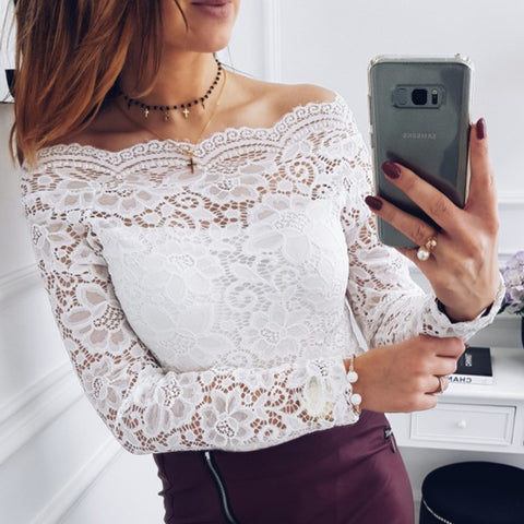 Brianna  - Lace Top