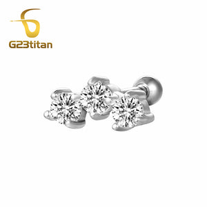 Hot Body Jewelry Crystal Ear Plugs