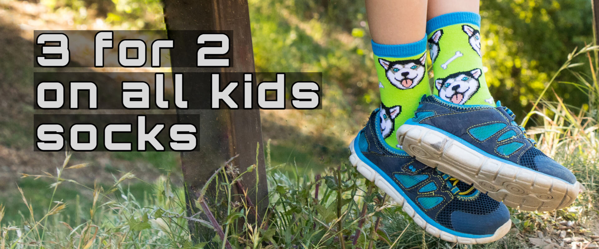 3 for 2 on kids socks