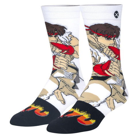 Unisex Street Fighter Ryu Socks