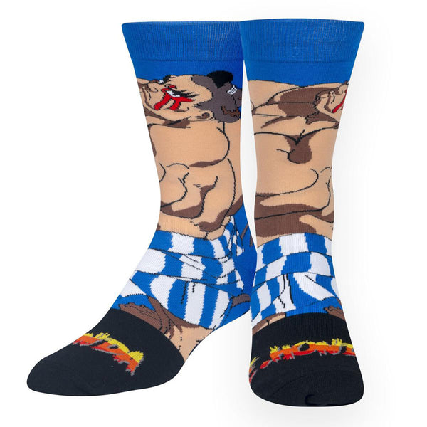 Unisex Street Fighter E. Honda Socks