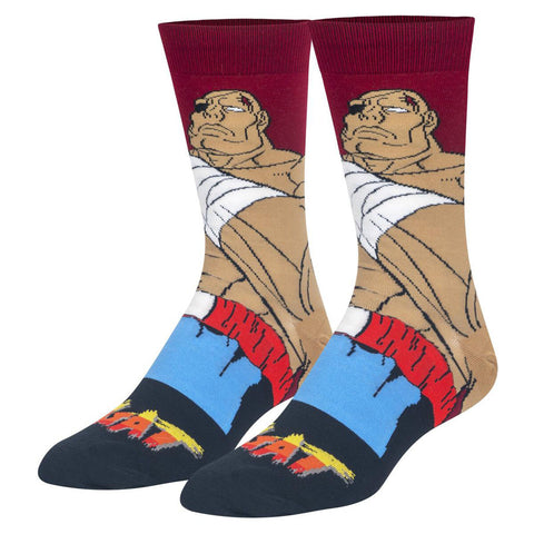Unisex Street Fighter Sagat Socks