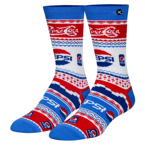 Unisex Pepsi Christmas Jumper Socks