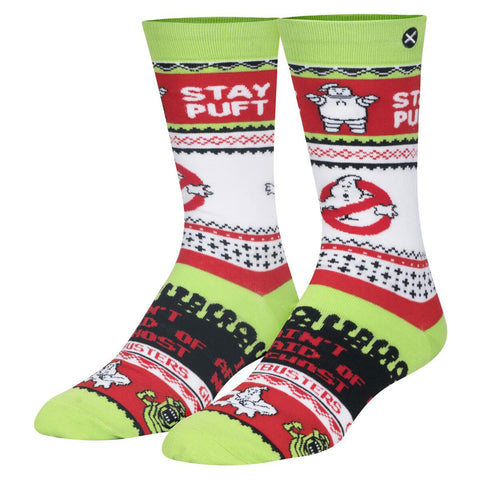 Unisex Ghostbusters Christmas Jumper Socks
