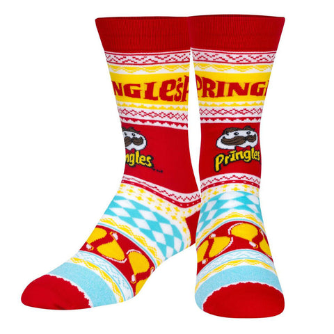 Unisex Pringles Christmas Jumper Socks