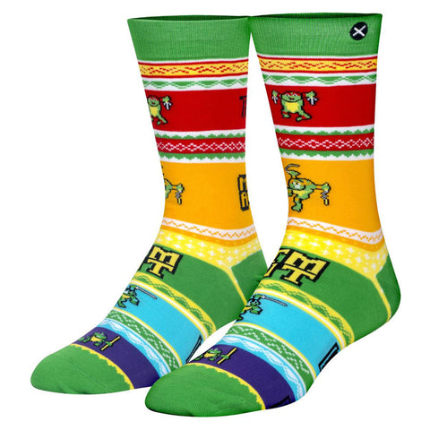 Unisex Teenage Mutant Ninja Turtles Christmas Jumper Socks