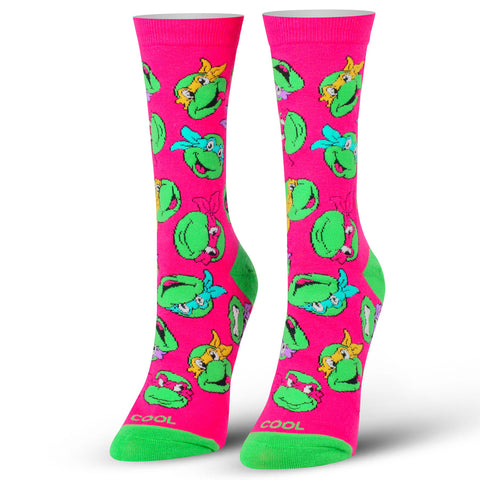 Women's Teenage Mutant Ninja Turtle Games Socks