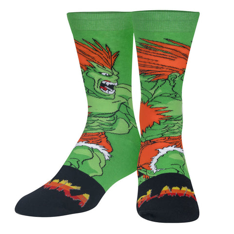 Unisex Street Fighter Blanka Socks