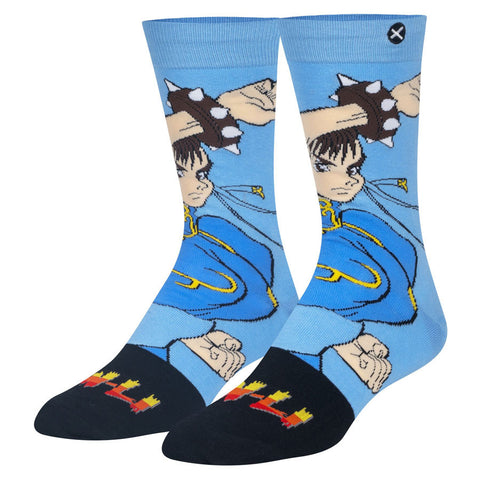 Unisex Street Fighter Chun-Li Socks