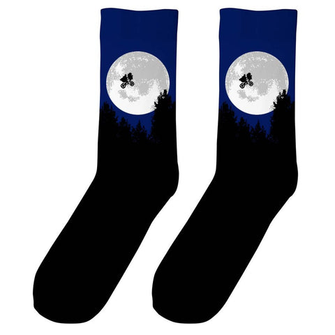 Unisex E.T. Moon Socks