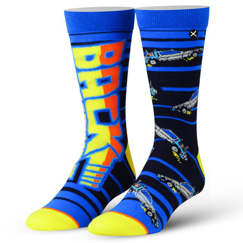 Men's Back To The Future Socks