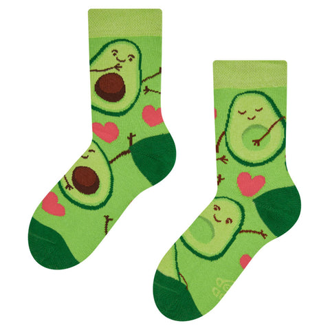 kids avocado socks