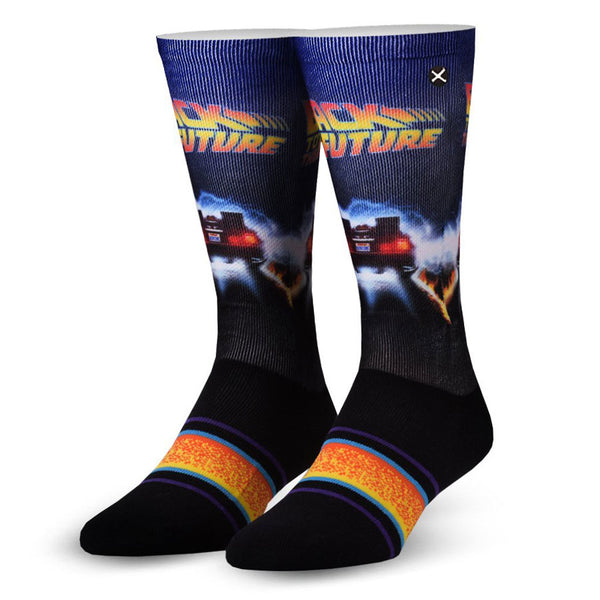 Unisex Back To The Future Back In Time Socks