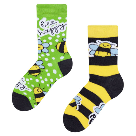 Kids' Bee Happy Socks