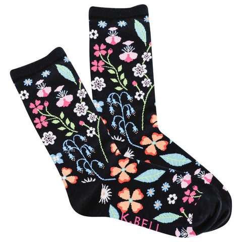 Women's Floral Socks