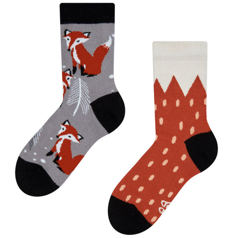 kids fox socks