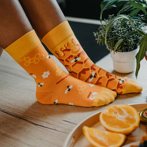 Unisex Honeycomb Socks
