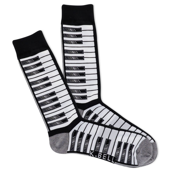 Men's Piano Socks