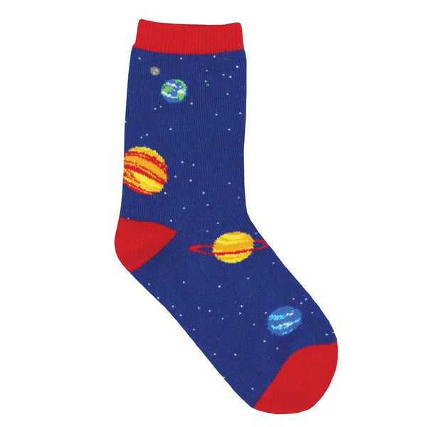 Out Of This World Space Socks
