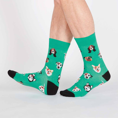Men's Dogs Of Rock Socks