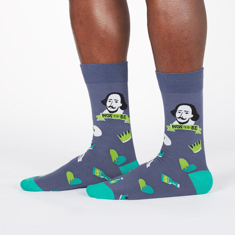 Men's To Be Or Not To Be Socks
