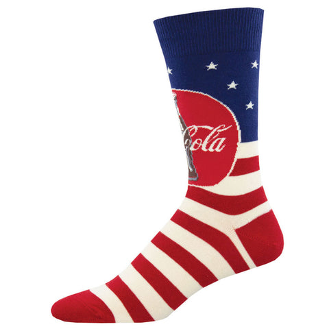 Men's Americana Coca-Cola Socks