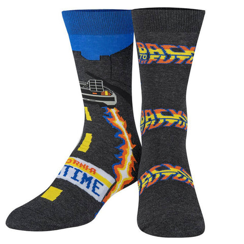 Unisex Back To The Future Outta Time Socks