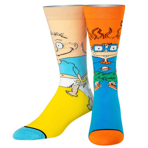 Women's Tommy and Chuckie Rugrats Socks