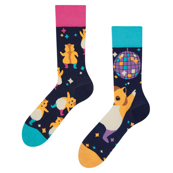 Unisex Party Hamster Socks