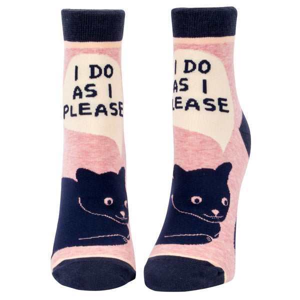 Women's I Do As I Please Ankle Socks