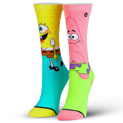 Women's SpongeBob and Patrick Socks