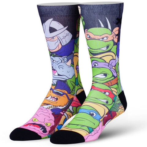 Men's Teenage Mutant Ninja Turtles Showdown Socks