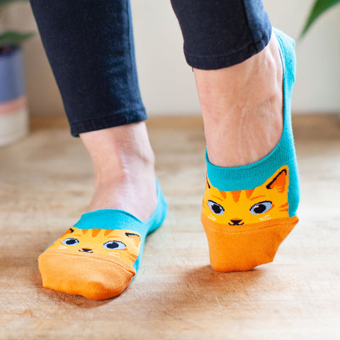 Women's The Cat's Meow No Show Socks