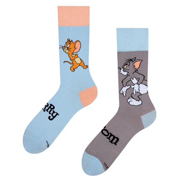 Unisex Tom and Jerry Socks