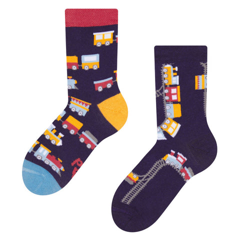 Kids' Trains Socks