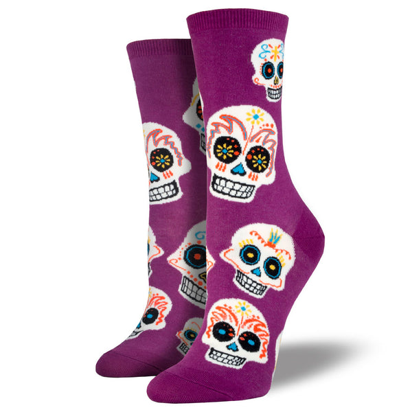 Women's Big Muertos Skull Socks
