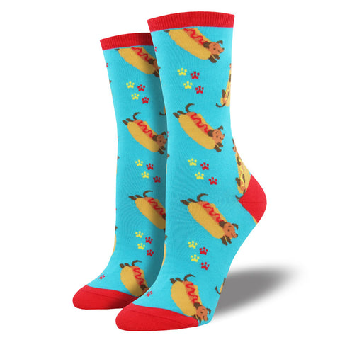 Women's Hot Dog Socks