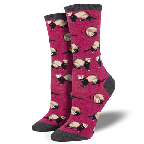 Women's Ferret Frenzy Socks