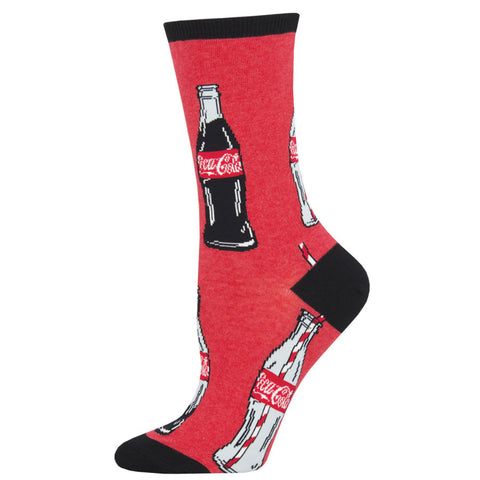 "Women's Coca-Cola ""Good To The Last Drop"" Socks"